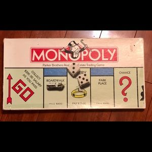 1985 Monopoly Parker Brothers Full